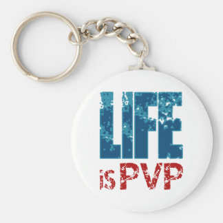 La vida es diseño del videojugador de PVP Llavero Redondo Tipo Pin