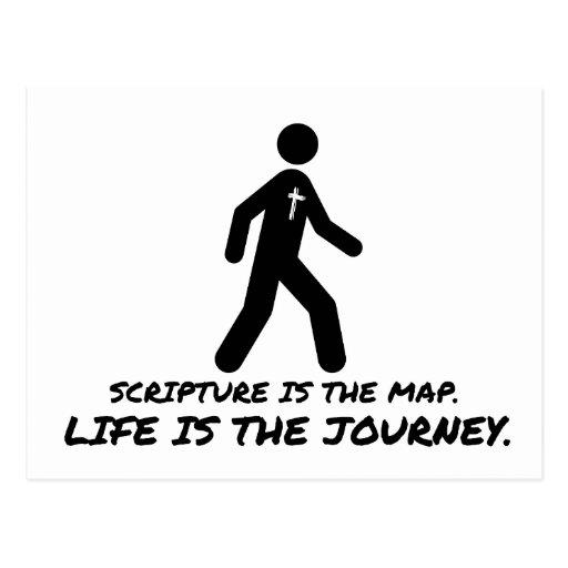 La vida es el cristiano del viaje