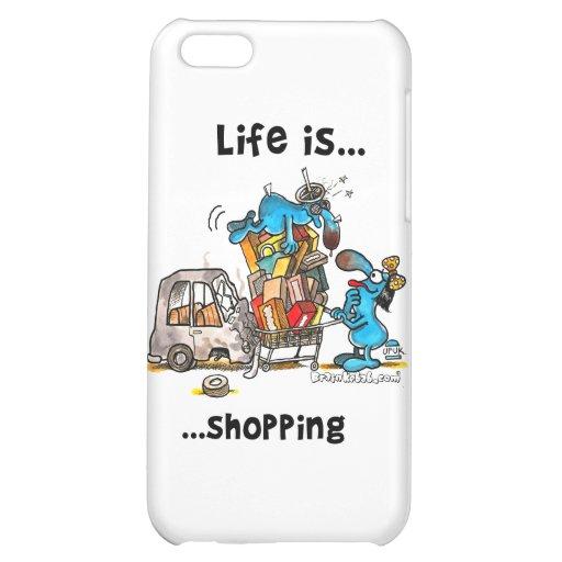 La vida es… El hacer compras