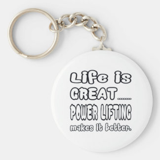 La vida es elevación de la gran potencia la hace llavero redondo tipo chapa