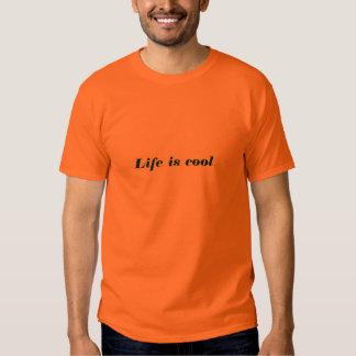 La vida es fresca (la verde lima en el naranja de playeras