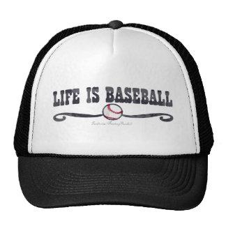 La vida es gorra de béisbol