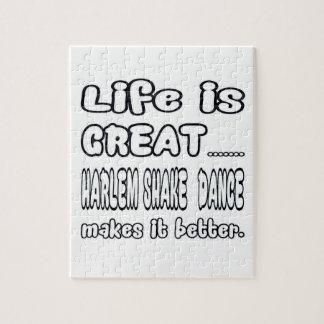 La vida es gran danza de la sacudida de Harlem la Rompecabezas