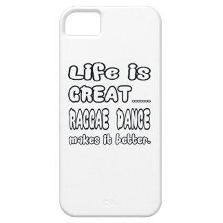 La vida es gran danza del reggae la hace mejor iPhone 5 carcasas