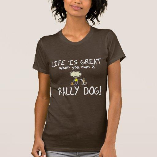 La vida es gran obediencia de la reunión camisetas