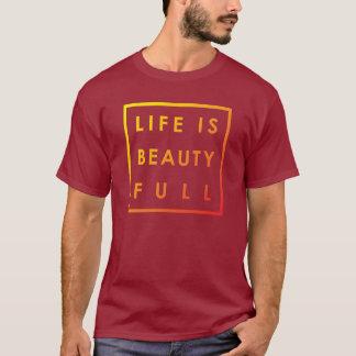La vida es la belleza por completo 02 playera