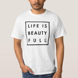 La vida es la belleza por completo 04 remera