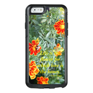 La vida es la flor funda otterbox para iPhone 6/6s