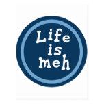 La vida es Meh Postales