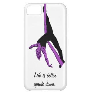 La vida es mejor al revés - hamaca aérea funda para iPhone 5C
