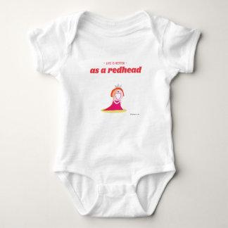 La vida es mejor como redhead body para bebé