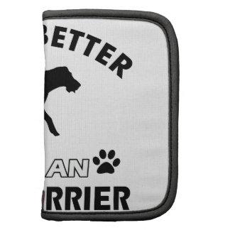 La vida es mejor con Terrier irlandés Planificador