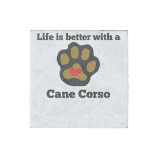 La vida es mejor con un bastón Corso