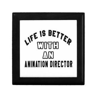 La vida es mejor con un director de la animación caja de regalo