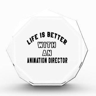 La vida es mejor con un director de la animación