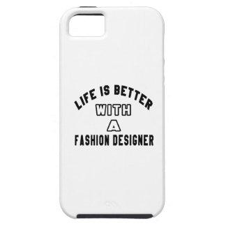 La vida es mejor con un diseñador de moda iPhone 5 funda