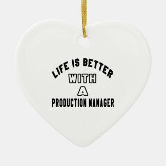 La vida es mejor con un encargado de producción ornato
