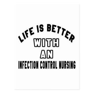 La vida es mejor con un oficio de enfermera del postales