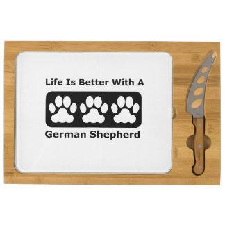 La vida es mejor con un pastor alemán