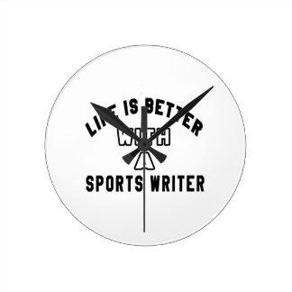 La vida es mejor con un periodista deportivo relojes