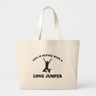 La vida es mejor con un puente largo bolsas