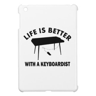 La vida es mejor con un teclista iPad mini fundas