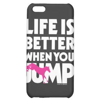 La vida es mejor cuando usted salta
