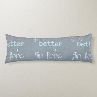 La vida es mejor en flips-flopes
