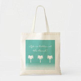 La vida es mejor en la bolsa de asas de la playa