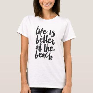 La vida es mejor en la playa playera