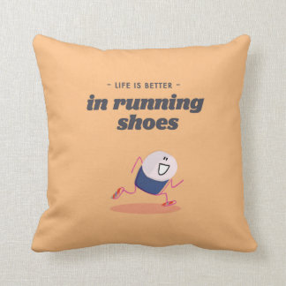 La vida es mejor en zapatillas deportivas cojin