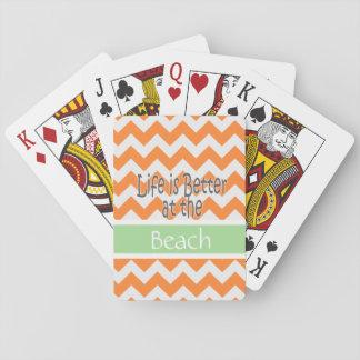 La vida es mejores naipes barajas de cartas