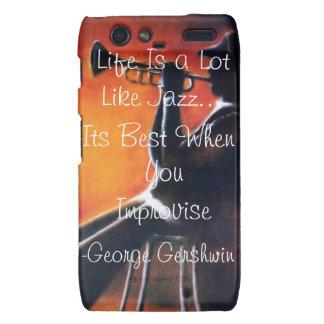 La vida es mucho como jazz droid RAZR carcasa