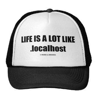 La vida es mucho como .localhost (el humor de Comp Gorras De Camionero