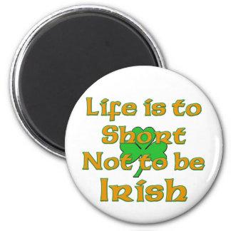 La vida es poner en cortocircuito para no ser irla imán redondo 5 cm
