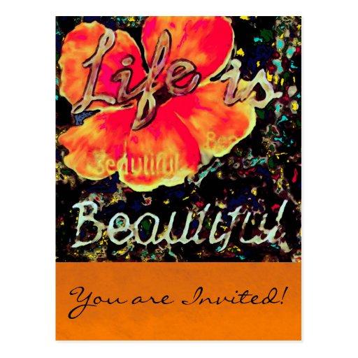 La vida es postal hermosa del ~/le agradece
