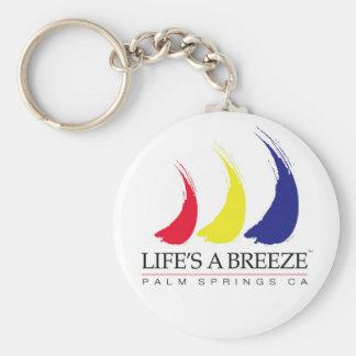 La vida es primaveras de un Breeze™_Paint-The-Wind Llaveros Personalizados