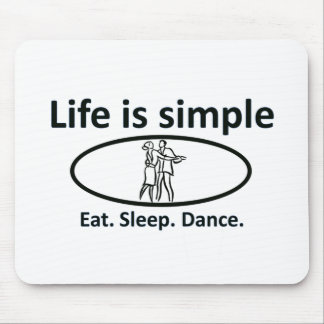 La vida es simple, danza tapetes de ratones