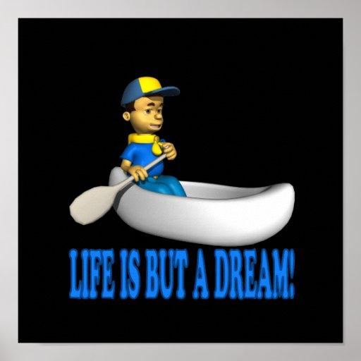 La vida es solamente un sueño poster