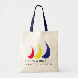 La vida es un bolso de la playa de Breeze™_Paint-T Bolsa