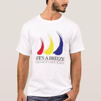 La vida es un Breeze®_Paint-The-Wind_St. Camiseta