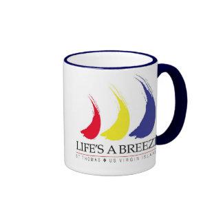 La vida es un Breeze™_Paint-The-Wind_St. Taza de T