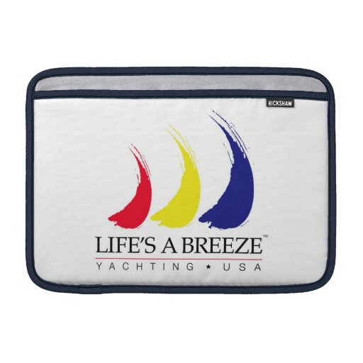 La vida es un Breeze®_Yachting los E.E.U.U. Fundas MacBook