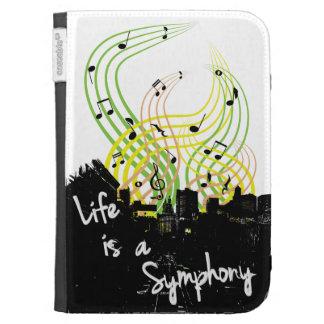 La vida es un caso del ipad de la sinfonía
