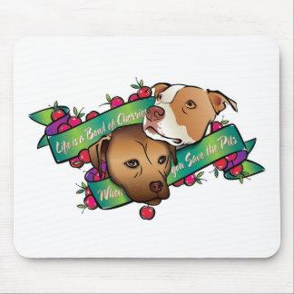 La vida es un cuenco de cerezas… mousepads