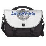 La vida es un fiesta bolsas para portatil