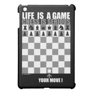 La vida es un juego, ajedrez es seria