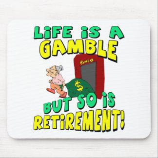 La vida es un juego tapete de ratón