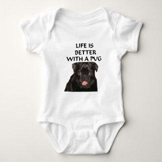 la vida es un mejor barro amasado body para bebé