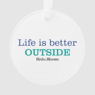 La vida es un mejor exterior